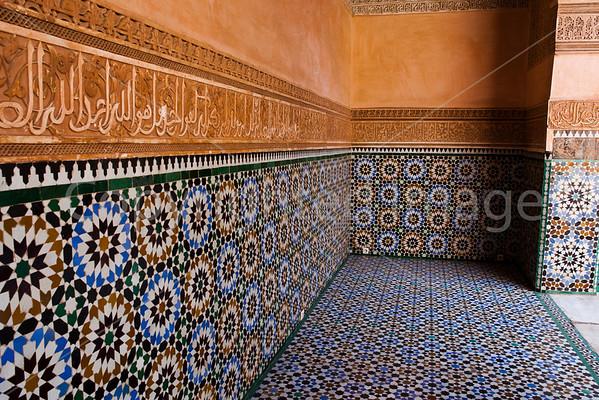 Tile in the Medrasa