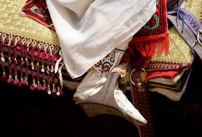 Marrakech le 02/08/2007  Marrakech : concours de qualification des chevaux arabes barbes.Cette manifestation hippique, qui comporte 12 Žpreuves dont 19 d'Žlevage et 3 de Tbourida, a pour objectif la sŽlection des meilleurs chevaux du Royaume, prŽcise un communiquŽ de la SociŽtŽ Royale d'encouragement du cheval  ©Didier Baverel.com/Starface