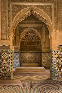 Saadian Tombs, Marrakech
