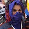 """IMILCHIL LE 26/08/2006<br /> <br /> Fte du """"Moussem"""" d'Imilchil dans le Haut Atlas au Maroc.<br /> Fte ancestrale berbre ayant pour but de faire se rencontrer les jeunes filles et garons des villages du Haut Atlas pour se marier.<br /> Cette annŽe 16 couples ont ŽtŽ mariŽs dans la journŽe par les autoritŽs religieuses et civiles de la province de Rachidia.<br /> <br />  Selon la lŽgende, une jeune fille A•t Yaaza aimait un beau A•t Ibrahim. RomŽo et Juliette berbre du Haut-Atlas, ils connurent la mme destinŽe tragique, de mourir sans pouvoir sÕaimer ni se marier. Cette dŽception des deux amoureux avaient fait couler beaucoup de larmes, qui donnrent naissance aux lacs Isli (le fiancŽ) et Tislit (la fiancŽe). Leurs parents, repentis, dŽcidrent quÕune fois par an, pour leurs progŽnitures jeunes garons et jeunes filles de se choisir librement et avec leur propre consentement de se marier, depuis, il y a une coutume que l'on appelle """"taqerfiyt"""" pendant laquelle un garon peut c™toyer son futur Žpoux ,l'union du couple ne trouve donc opposition. <br /> <br /> © BAVEREL - STARFACE"""