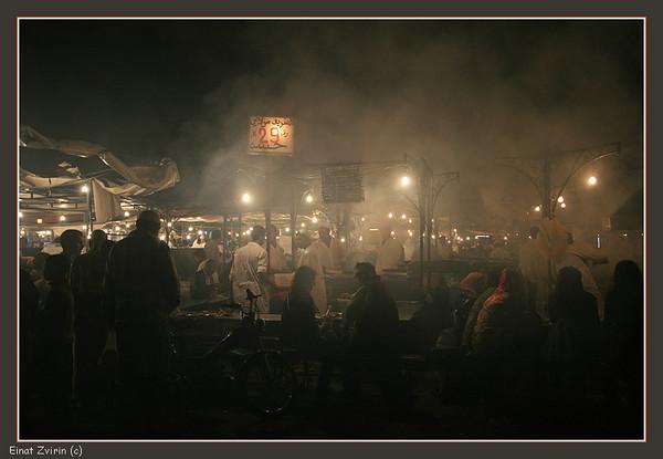 Jamma El Fna Food Market<br /> Marrakech