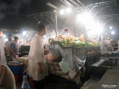 Marrakech - jemaa el fna by night