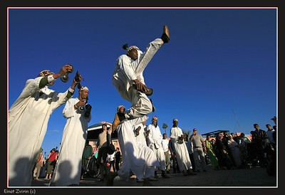 Ninja Street performers, Jamma El Fna Square, Marrakech
