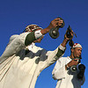 Ninja<br /> Street performers, Jamma El Fna Square, Marrakech