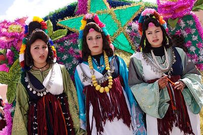 Kelaa Mgouna 04/05/07 Fte de la Rose ˆ Kelaa M'gouna ˆ l'est de Ouarzazate,Maroc.   ©didierbaverel.com/Starface