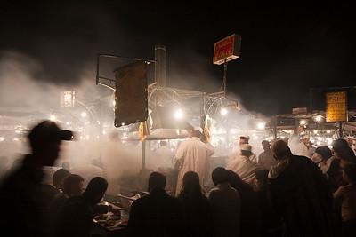 Jamma El Fna Food Market, Marrakech