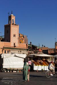 Jemaa El Fna Evening Scene, Marrakech