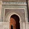 Bab El-Mansour (side entrance), Meknes