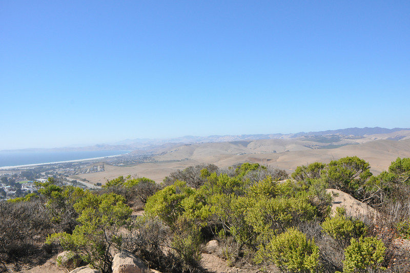 Top of Black Hill at Morro Bay.  If I get ambitious I might merge these 9 photos into a panorama.  Don't hold your breath.