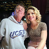 Stephen with Samantha Fish