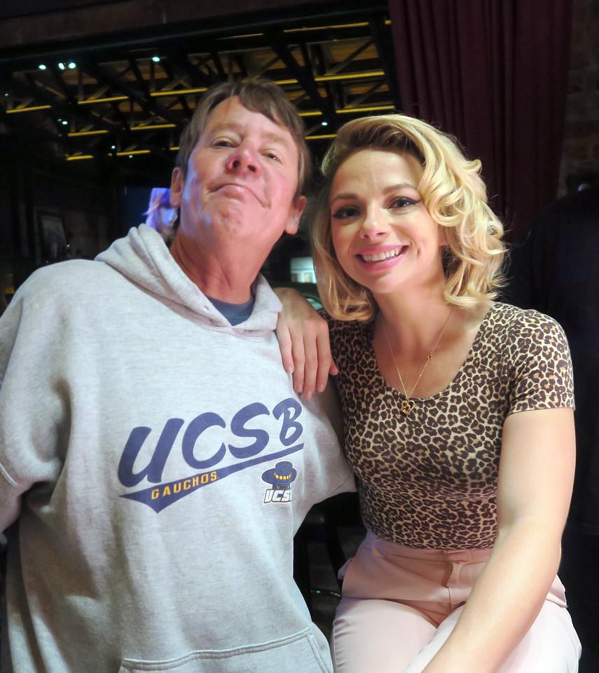 Stephen with Samantha Fish