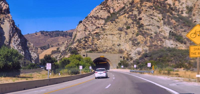 Gaviota Gorge Tunnel on the 101