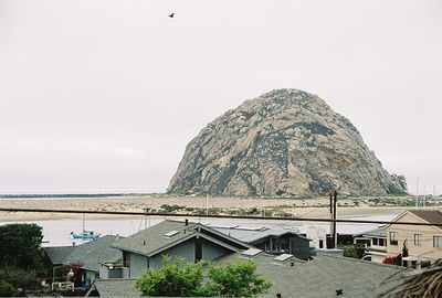 8/19/04 Morro Bay, view of Morro Rock