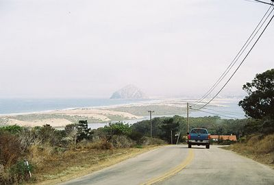 8/19/04 View of Morro Bay, driving down from Morro Bay State Park