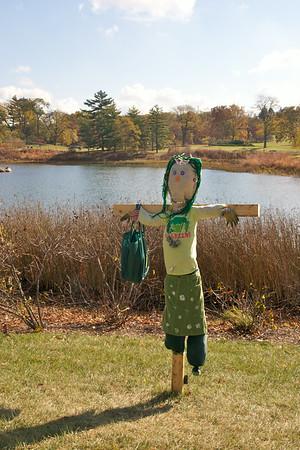 Morton Arboretum Scarecrows