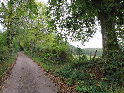 Maandag wandeling rond Anost