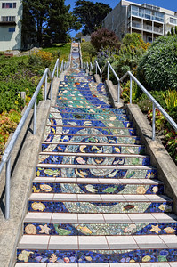 The 360 step Mosaic Staircase