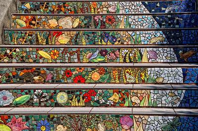 Mosaic Staircase