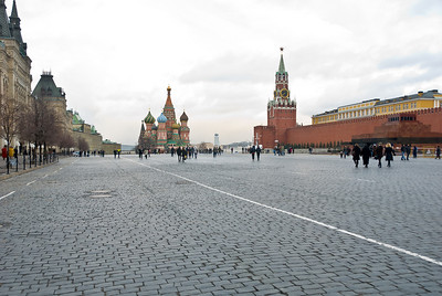 Red Square, St Basil's