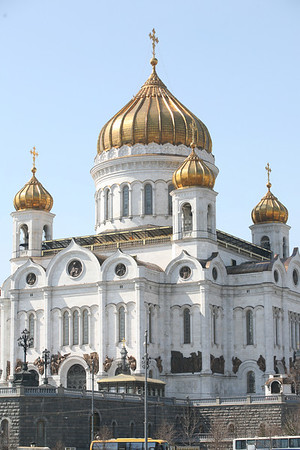 Cathedral of the Christ the Savior, Moscow