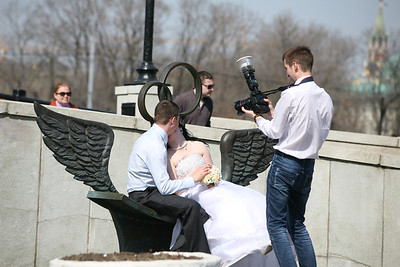 A Wedding Photographer, Moscow
