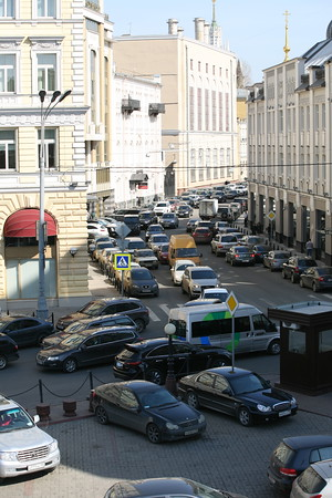 Traffic, Moscow