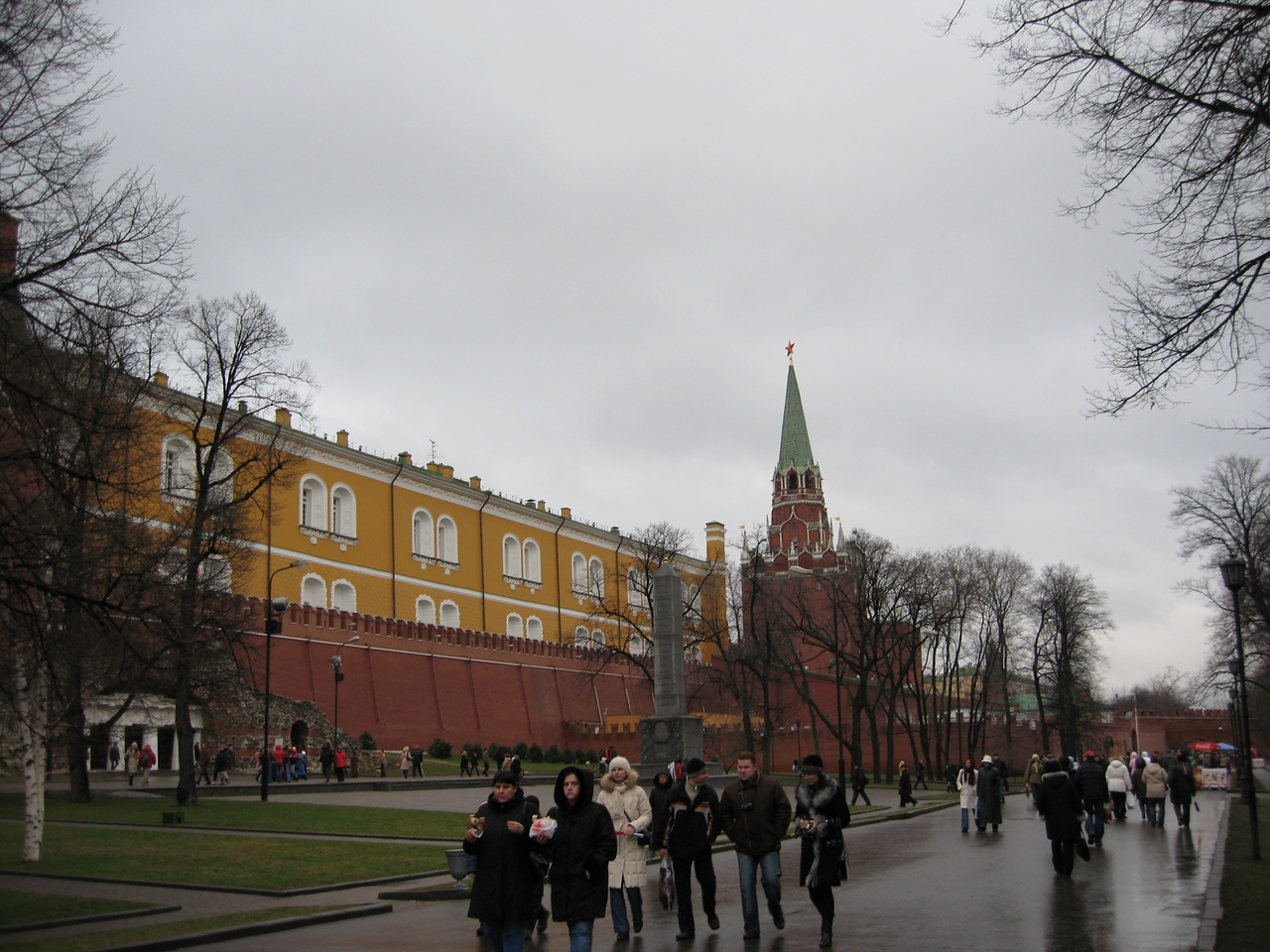 Another view of the Kremlin - just south of the Tomb of the Unknown Soldier.