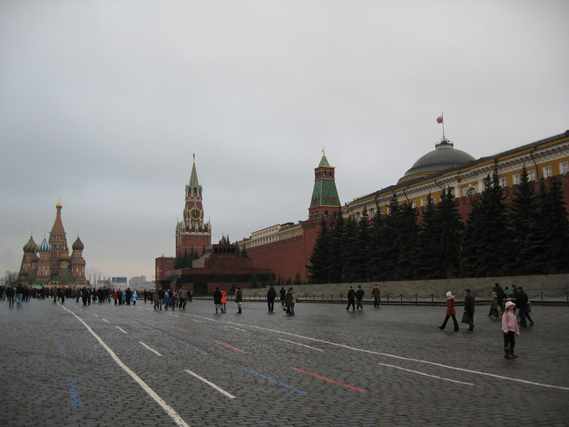 Red Square & St Basils.