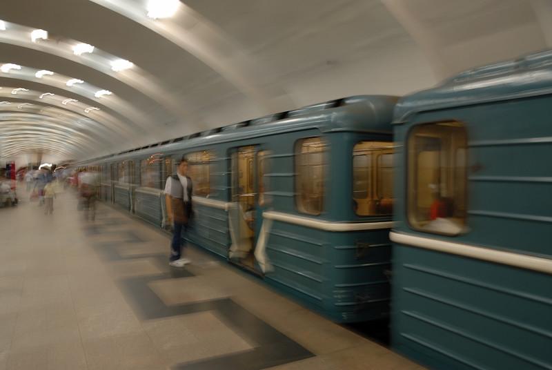 Infamous Moscow Metro