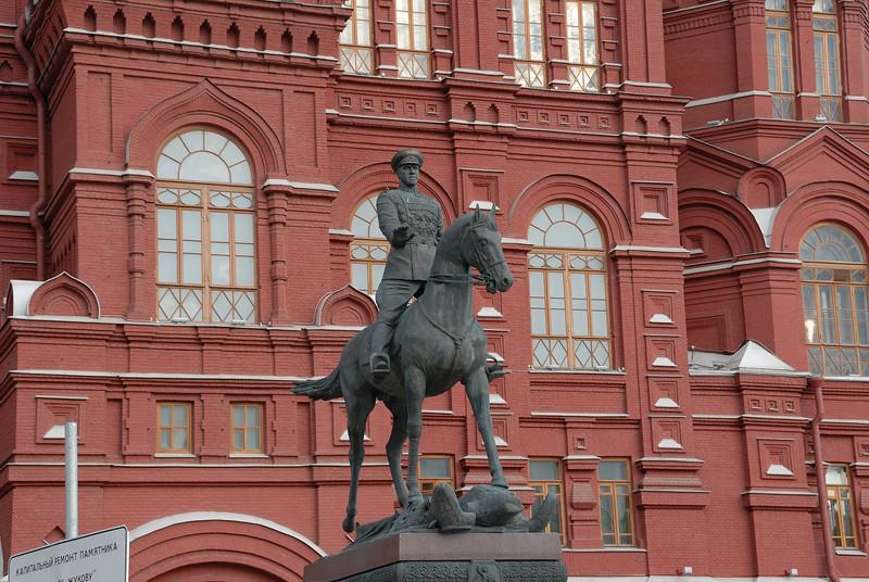 Statue of General Zukov
