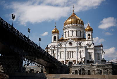 Boat ride, Moscow.