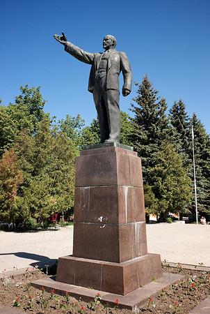 Lenin, near Dubna.