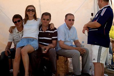 Summer BBQ at the Volga, near Dubna.