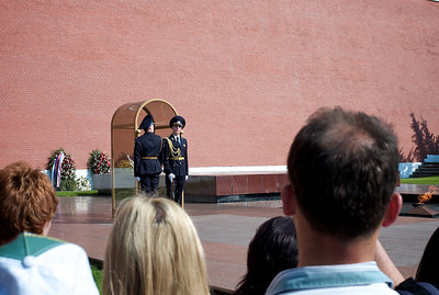 Changing of the guard, Moscow.