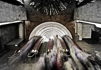 biblioteka imeni lenina - moscow metro