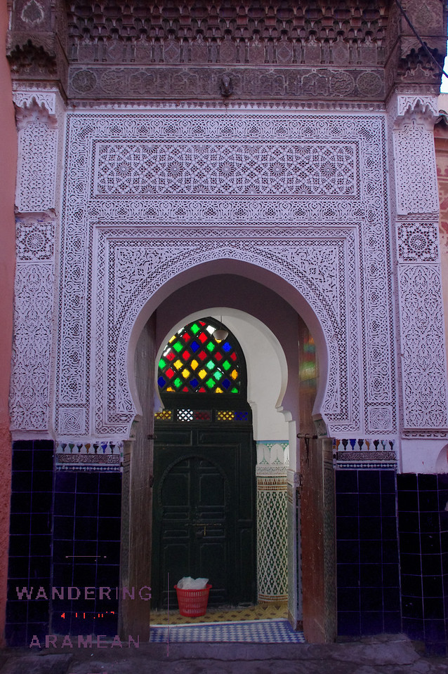 One of scores of mosques around town