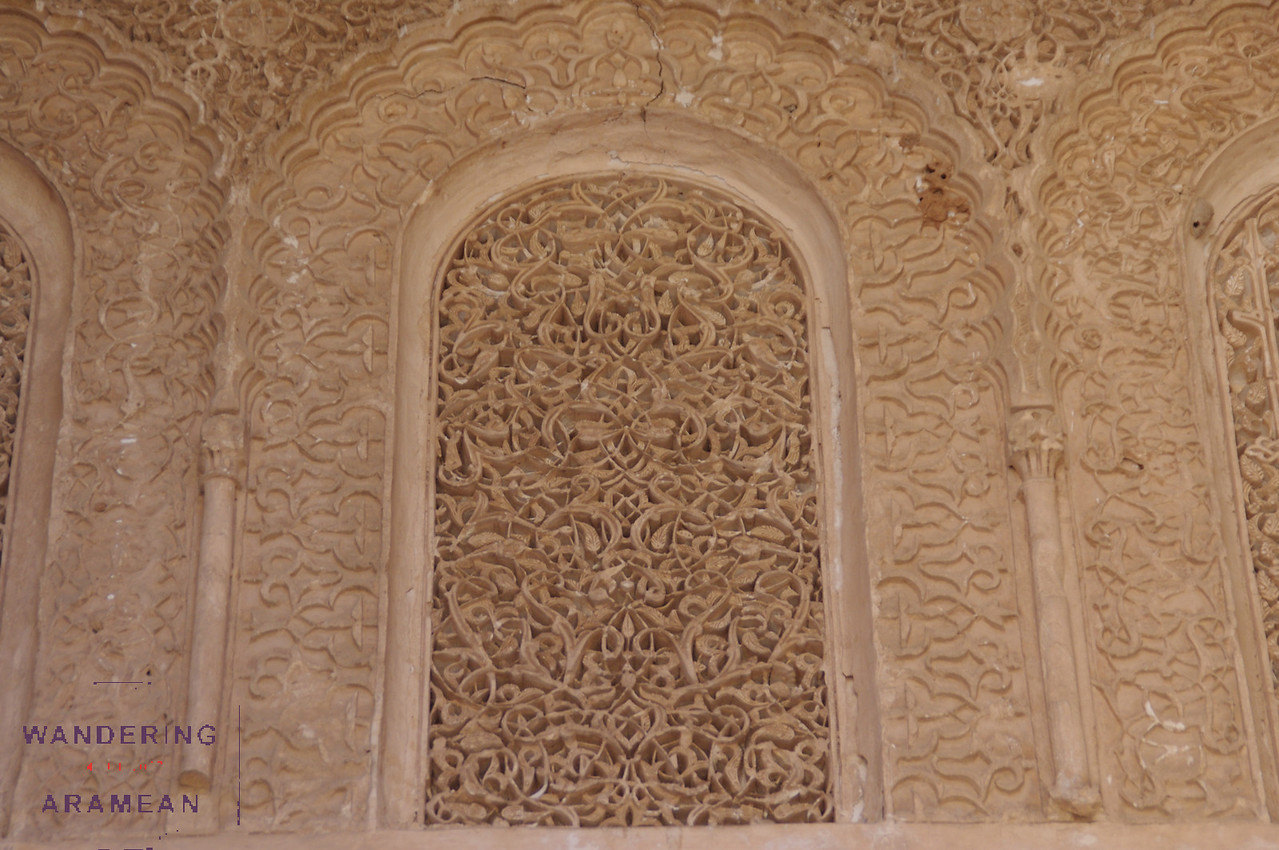 Incredible detail in the Saadian tombs