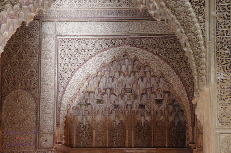 The detail work at the Saadian tombs was incredible.