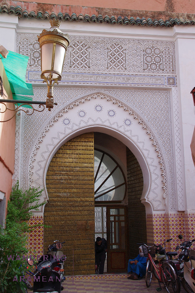 Mouassine Mosque entrance