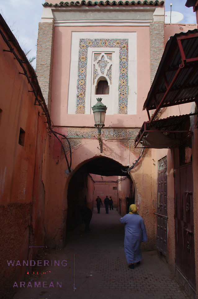 On the streets of the Medina, Marrakesh