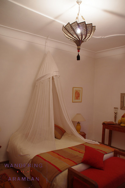 Our room at the Riad Irene