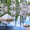 Mosquito Lake Pyramid Rock Reflections