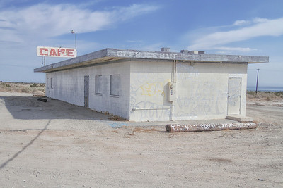 Abandoned Cafe Salton Sea