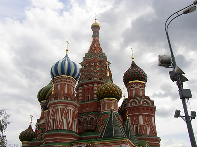 Moscow - Red Square - basilica