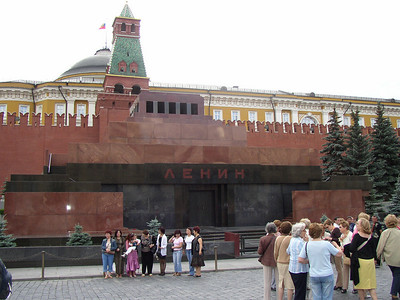 Moscow - Red Square - Lenin Mausoleum