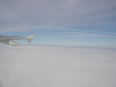 Flight back from Moscow