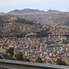 overlooking La Paz