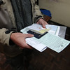 paperwork in hand to get our visa
