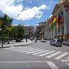 Plaza Murillo, main plaza in La Paz