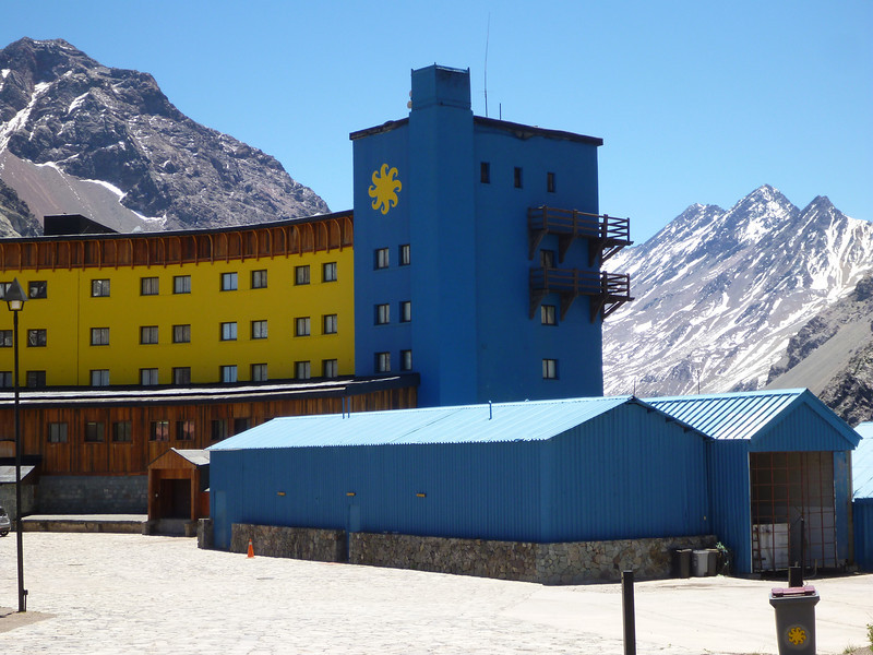 Portillo ski resort.